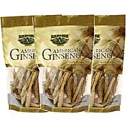 Get High Quality American Ginseng Root Small 8oz Bag X 3
