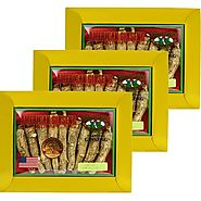 Find Long American Ginseng Jumbo 4oz X 3