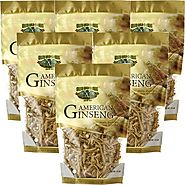 High Quality American Ginseng Prong 8oz Bag X 6 At Reasonable Cost