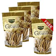 Find American Ginseng Root Small 8oz Bag X 4