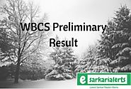 WBCS Preliminary Result 2018 | WBPSC Civil Services Cut Off Marks