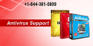 Antivirus Support Number +1-844-381-5809