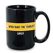 Order Black Mug For Girls Online Same Day Delivery - OyeGifts.com