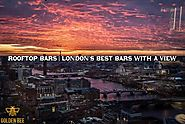 Golden Bee – Rooftop Bars | London's Best Bars With A View | Old Street Cocktail Lounge Bar In Shoreditch