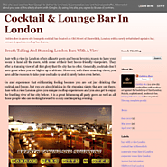 Bars With A View In London - Golden Bee