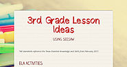 3rd Grade Lesson Ideas