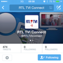 Le Connect de RTL maintenant disponible sur Twitter
