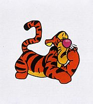 Bubbly and Optimistic Tigger Embroidery Design | Machine Embroidery Design | EMBMall