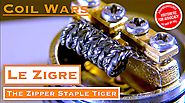 COIL WARS! and How to Build a Zipper Staple Tiger Coil