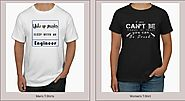 Choose from a wide selection of t-shirts for men and women