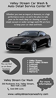 Valley Stream Car Wash & Auto Detail Service Center NY | edocr