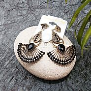 Buy and Send Crescent Shaped Drop Earrings Gifts Online Delivery Across India @ Best Price - OyeGifts