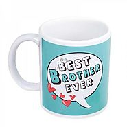 Buy or Send Best Brother Mug - Personalized Gifts - OyeGifts.com