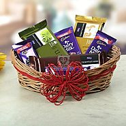 Send A Basket Of Sweet Treat Same Day Delivery - OyeGifts