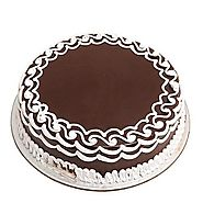 Order/Send Chocolate Cake 500gm Online - YuvaFlowers.com