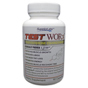 Testosterone Booster Supplement TEST WORx - 6 Week Cycle - 100% Made in the USA! Ingredients clinically proven in HUM...