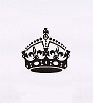 Gorgeously Bejeweled Crown Silhouette Embroidery Design | EMBMall