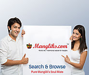 Website at https://www.mangliks.com/matrimony/matrimonial.php
