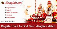 Find Your Matchmaking Life Partner With Manglik Matrimony Sites