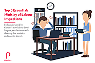 Infographic: Ministry of Labour Inspections | Top 5 Facts | Peninsula Canada