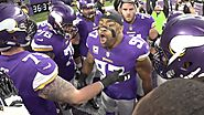 Let's start our story inside the tunnel as the Vikings prepare to take the field.