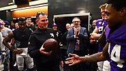 Zimmer's Locker Room Speech After The Win Over The Saints