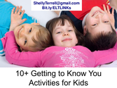 10+ Getting to Know You Activities for Kids