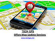 TECH GPS Offers Free Map Update Service