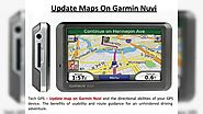 Tech GPS - Update Map On Garmin and Tomtom Device