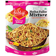 Shop the Halka Fulka Mixture, the best Prabhuji Namkeen Online.