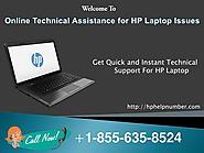 Hp Laptop Technical Support Number for Instant Customer Help Service