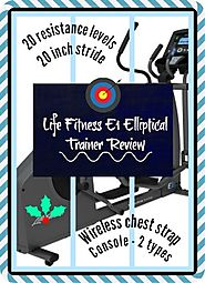 Life Fitness E1 Elliptical Cross Trainer Review