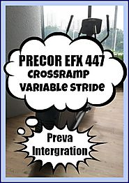 Precor EFX Precision Series 447 Elliptical Trainer Review