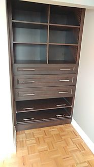 Built In Wall Units Toronto | Space Age Closets