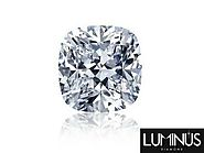 Visit Luminus Diamond To Buy Cushion Cut Diamond