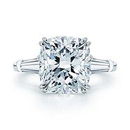 Buy Cushion Cut Diamond For Engagement Rings At Low Price