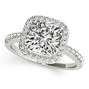 Get Cushion Cut Diamond For Engagement Rings At Luminus Diamond