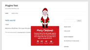 "WordPress › Holiday Message "" WordPress Plugins"