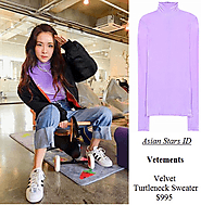 Vetements Velvet Turtleneck Sweater $995