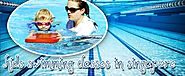 Trends in kids swimming classes Singapore