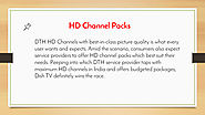 HD Channel Packs