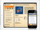 Tradeshow, Conference or Board Meeting Mobile apps for iPhone, iPad or Android | Mobile Technology for Brilliant Events