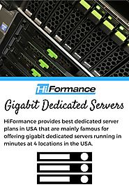 Gigabit Dedicated Servers