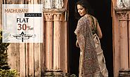 Handpainted Madhubani Silk Sarees Online from Shatika - Upto 30% Off on Sarees