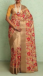 www.shatika.co.in - Buy Kota Doria Sarees Online at Best Prices In India