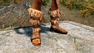 Forsworn boots with real feet meshes (for Better Males)