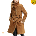 Women Shearling Long Coat CW640235