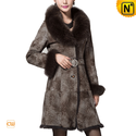 Rabbit Fur Lined Women Winter Coat CW640216