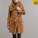 Women Shearling Lined Coats CW640235