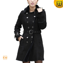 Women Spanish Merino Shearling Coat CW640213